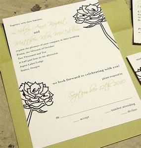 custom wedding invitation tear off rsvp postcard With wedding invitations with tear off rsvp card