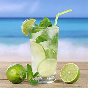 Service à Mojito : mojito or caipirinha cocktail drink on the beach stock image image of beverages mint 42328535 ~ Teatrodelosmanantiales.com Idées de Décoration
