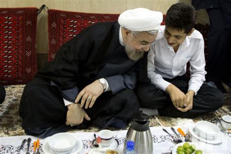 President Rouhani breaks his Ramadan fast with children ...
