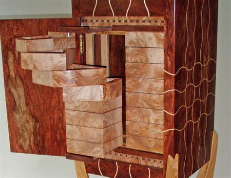 unique custom jewelry armoire artistic case  stand