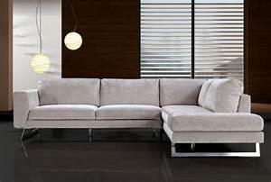 Divani Casa Milano Modern Fabric Sectional Sofa Sofas