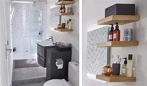 Aménager Une Salle De Bain : optimiser une petite salle de bains couloir am nager une ~ Dailycaller-alerts.com Idées de Décoration