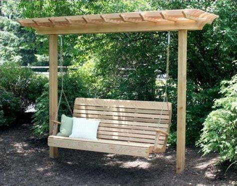plans a pergola swing pdf woodworking