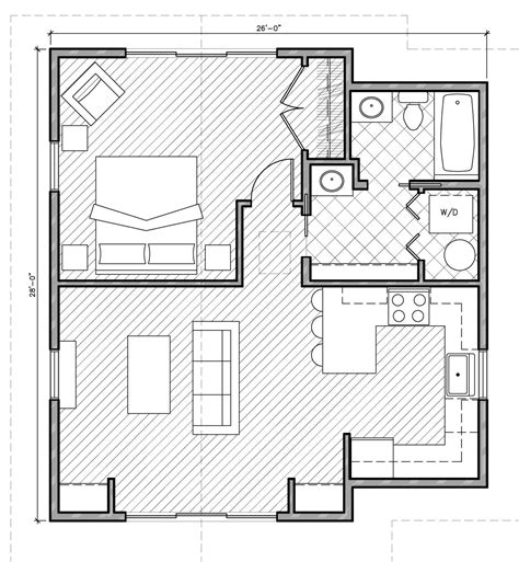 Small House Plans Under 1000 Sq Ft With Garage • 2018