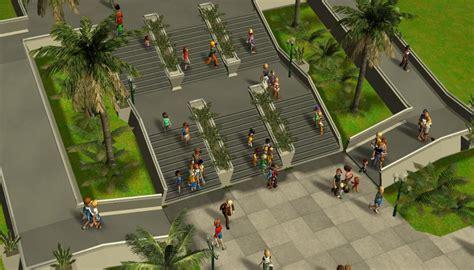 custom scenery depot theme park games epcot path