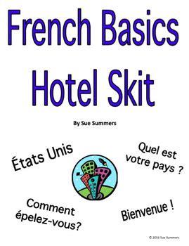 French Basic Language Hotel Skit / Role Play & Follow-up ...