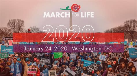 #WhyWeMarch: March for Life 2020 - Face Forward