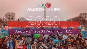 Whywemarch, March, For, Life, 2020