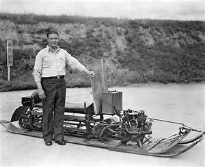 Inventor Of First Snowmobile Photograph by Underwood Archives