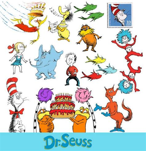 Dr Suess Clip Instant Dr Seuss Cat In The Hat Clipart Png