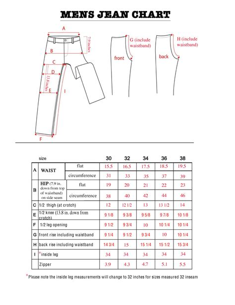 apple pant mens jean sizes bod