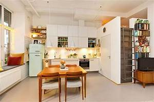 35 square meter apartment loft bed