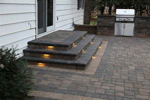 Outdoor led lighting for patios : Inspired led outdoor lighting stair patio