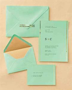 easy ways to upgrade your wedding invitations martha With wedding invitation envelope printing software