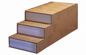 Lit Double Bois : lit double en bois avec rangement impero by cinius design ~ Premium-room.com Idées de Décoration