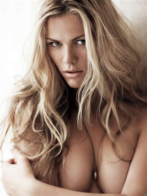 Brooklyn Decker Hot blonde Model Topless Wall Print POSTER | eBay