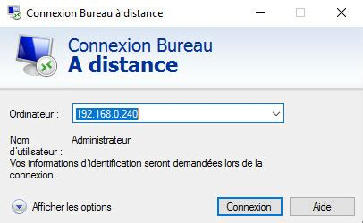 windows server ou windows connexion bureau 224 distance cbouba