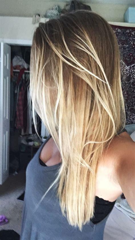 Ombré Hair Blond Polaire The 25 Best Hair Ideas On Color Blond Highlights