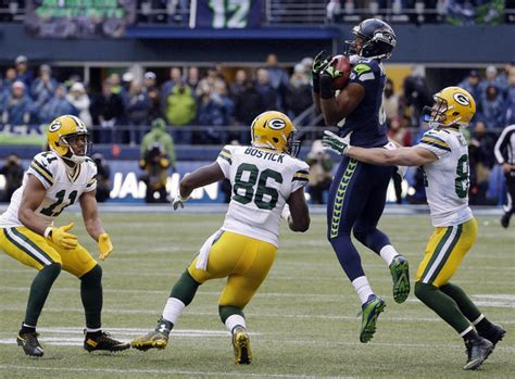 seahawks rally stuns packers    ot  nfc title