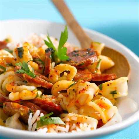 recette de cuisine gastronomique facile calamars à l 39 ail et chorizo facile recette sur cuisine
