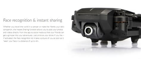 yuneec mantis  gps wifi  hd fpv foldable rc drone rtf