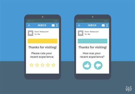 surveys  encourage positive reviews