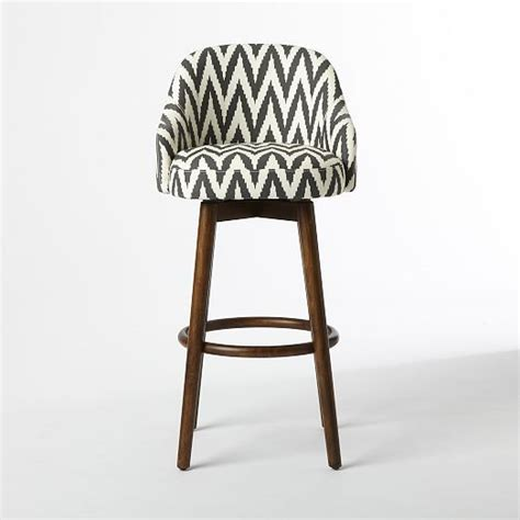 West Elm Saddle Stool by Saddle Bar Counter Stool Slate West Elm Furniture