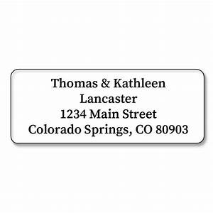 clear address labels current catalog With buy address stickers
