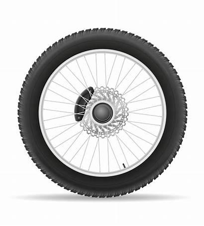 Motorcycle Tire Wheel Vector Illustration Disk Vecteezy