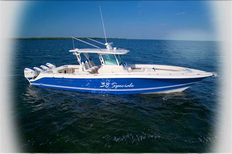 Hydra Sport Fishing Boats by Hydrasports Custom 38 Speciale Review Boats