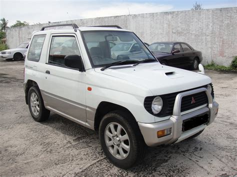 mitsubishi mini 1997 mitsubishi pajero mini pictures information and