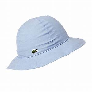357f70eab50 Lacoste Chambray Reversible Bucket Hat - Multicolour .