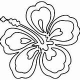 Lei Hawaiian Drawing Coloring Pages Leis Necklace Clipartmag sketch template