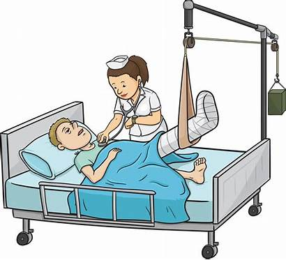 Hospital Injury Clipart Compensation Pain Suffering Lawyer
