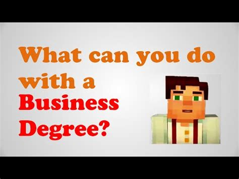 business degree business