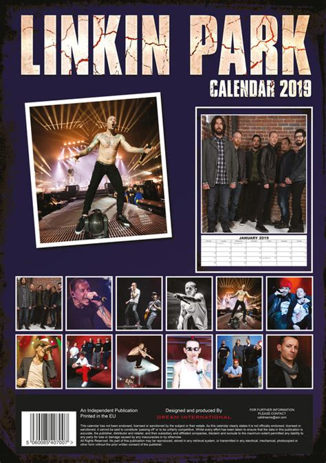 linkin park calendars ukposterseuroposters