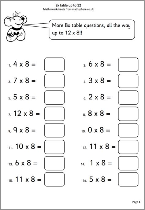 worksheets for 8 year olds uk mathsphere free sle maths worksheets