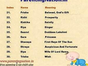 Indian Names For Girls | www.pixshark.com - Images ...