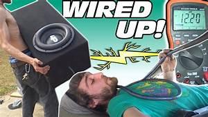 Wiring Car Audio System W   2nd Trunk Battery  U0026 Installing