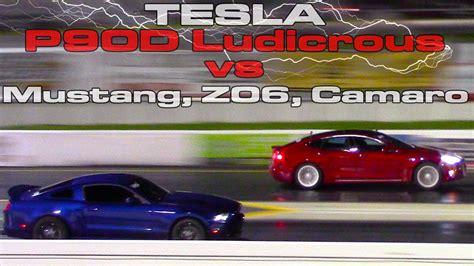 2016 Tesla Model S P90d Ludicrous Refresh Runs 11 Flat Vs