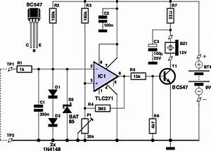 Components Voltage Tester Circuit Schematic Circuit Diagram And Instructions