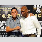 Floyd Mayweather Vs Robert Guerrero Weigh In | 850 x 635 jpeg 92kB