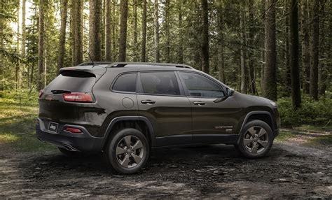 customized 2016 jeep cherokee celebrate 75 with the jeep cherokee and new custom wheels