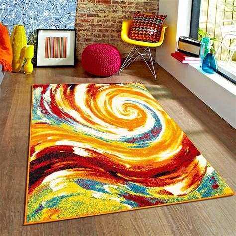 Colorful Throw Rugs by Rugs Area Rugs 8x10 Rug Carpets Modern Large Floor Plush