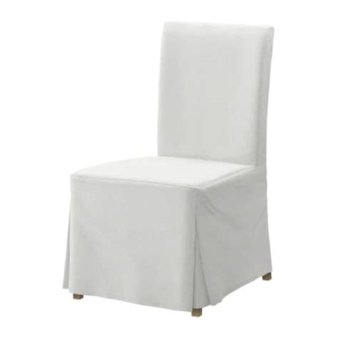 white slipcovered chair white budget henriksdal slipcovered dining chair at ikea