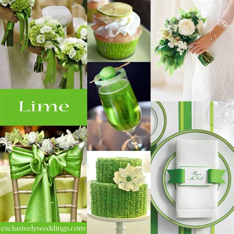 your wedding color green exclusively weddings