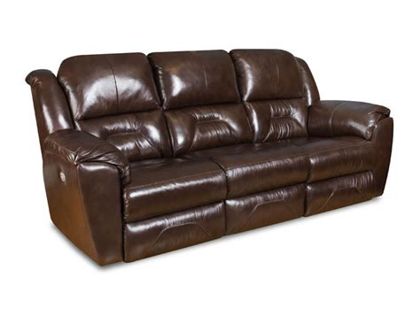 Southern Motion Leather Reclining Sofa by American Made Panorama Leather Sofa Set New Power