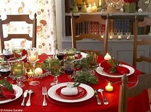Table De Noel Blanche : 50 tables de f te elle d coration ~ Carolinahurricanesstore.com Idées de Décoration