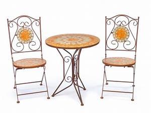 Gartentisch Und Stühle Set : garnitur gartentisch 2 st hle eisen fliesen mosaik garten tisch stuhl antik stil kaufen ~ Orissabook.com Haus und Dekorationen