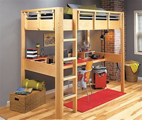 plans  loft bed bunk beds pinterest loft loft